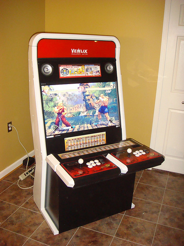 borne arcade lcd